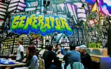 Generator-hostel-mural